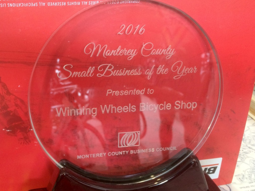 Winning Wheels Award